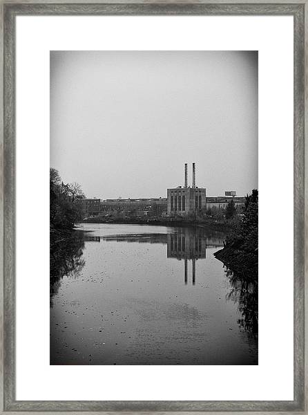 Water Factory Framed Print