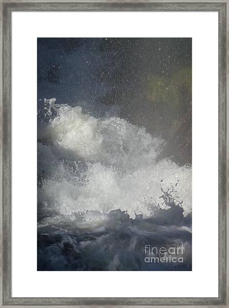 Water Fury 2 Framed Print