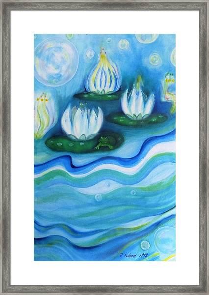 Water Garden Framed Print