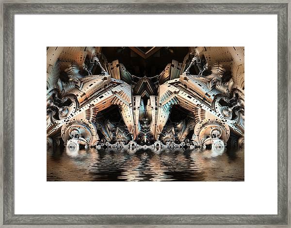 Water Hazard Framed Print