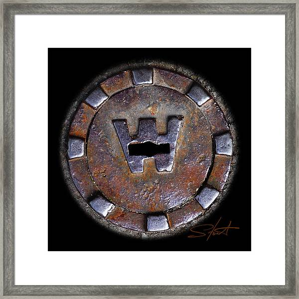 Water Hole 3 Framed Print