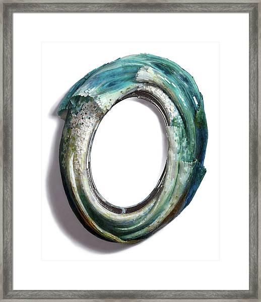 Water Ring I Framed Print