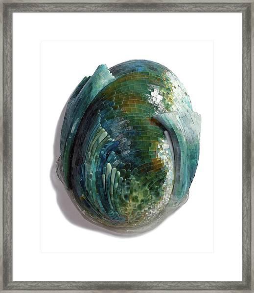 Water Ring II Framed Print