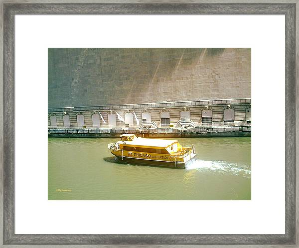 Water Texi Framed Print