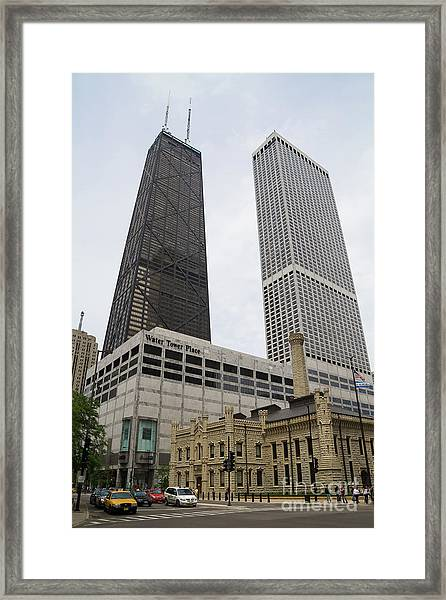 Water Tower Place And Company Framed Print