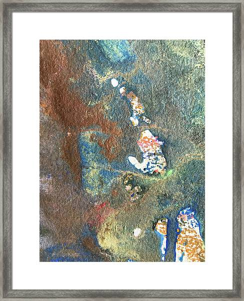 Waterburst Framed Print