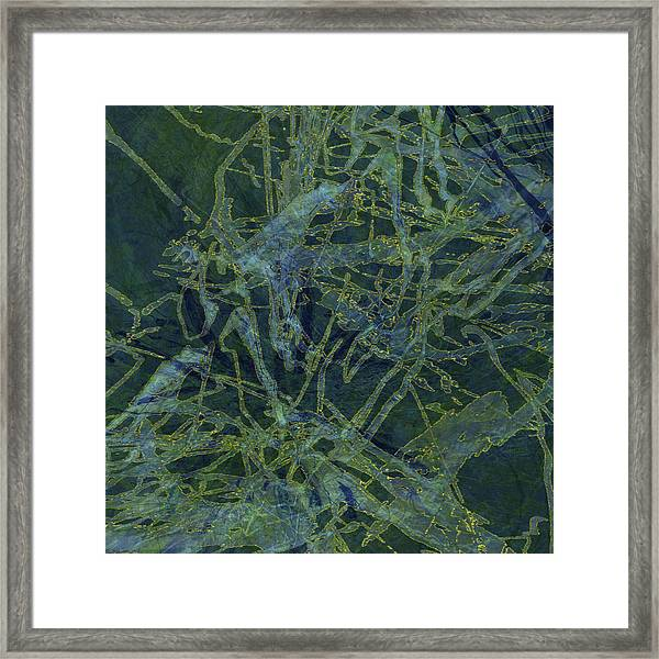 Edition 1 Watercolor Moss Framed Print