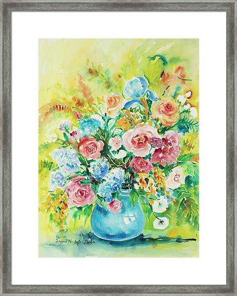Watercolor Series 120 Framed Print
