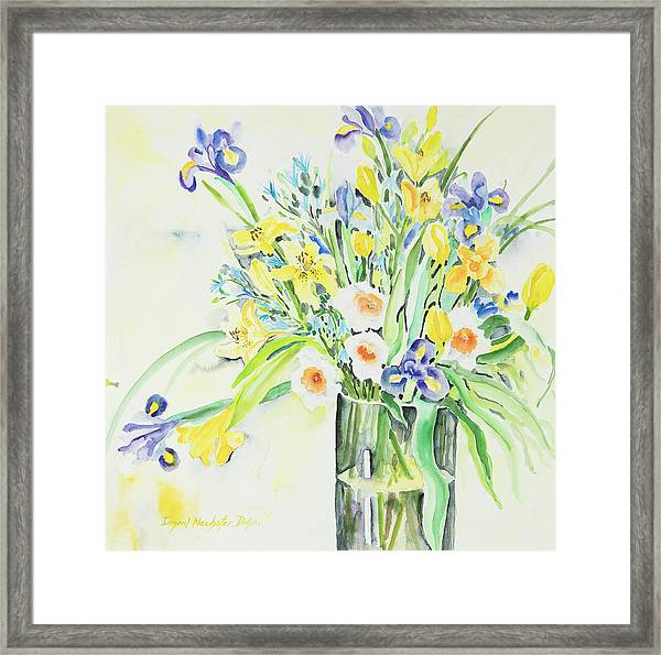Watercolor Series 143 Framed Print