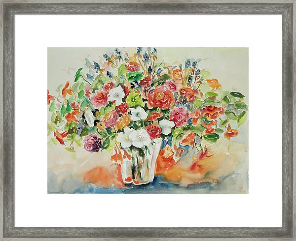 Watercolor Series 23 Framed Print