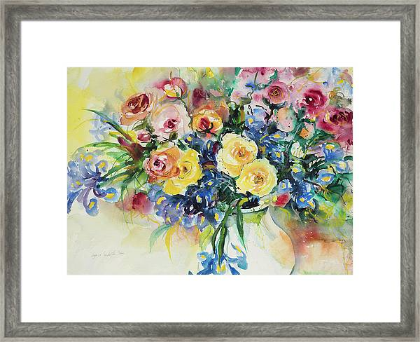 Watercolor Series 62 Framed Print