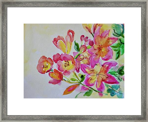 Watercolor Series No. 225 Framed Print