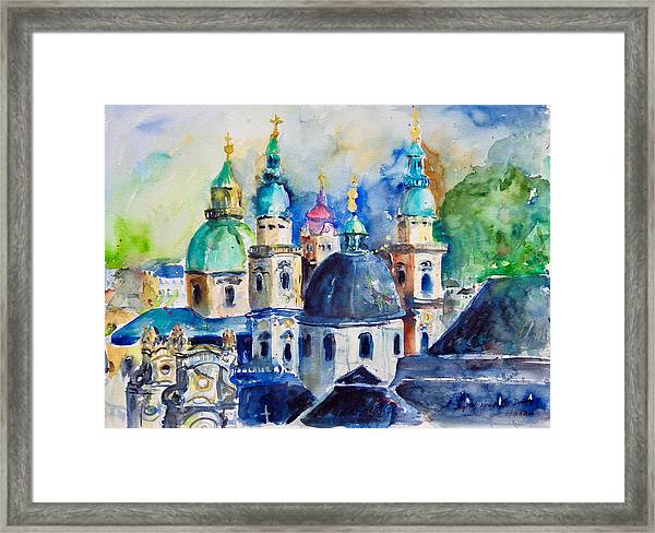 Watercolor Series No. 247 Framed Print
