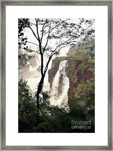 Waterfall 7 Framed Print