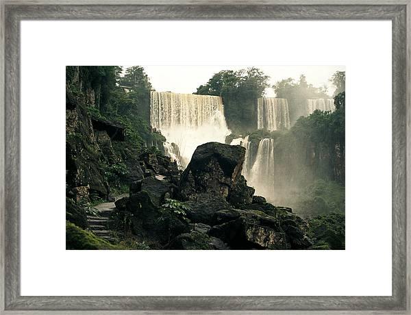 Waterfall 9 Framed Print