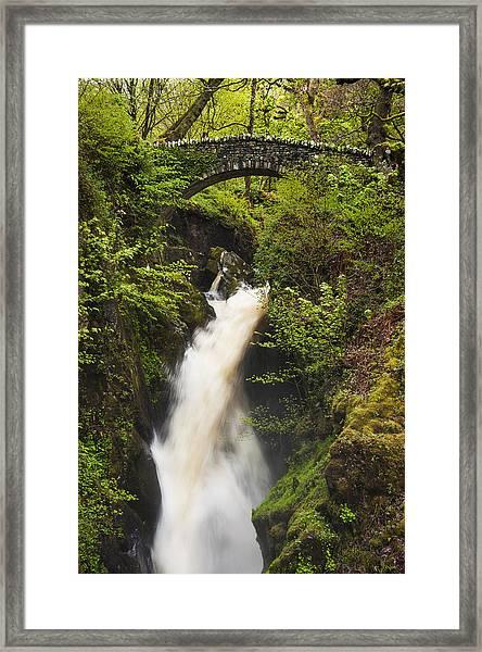 Waterfall Aira Force Framed Print