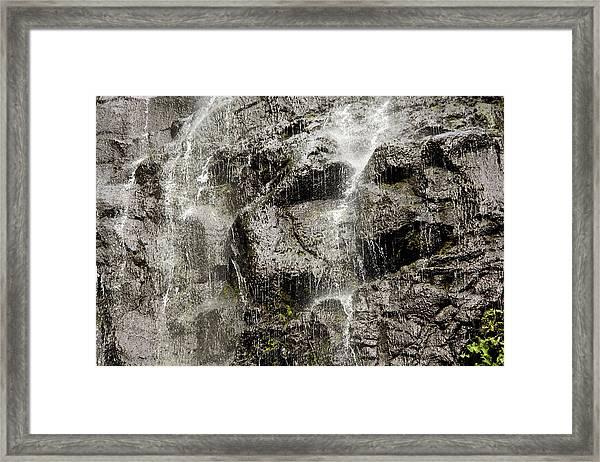 Waterfall, Fatu Hiva Island Framed Print
