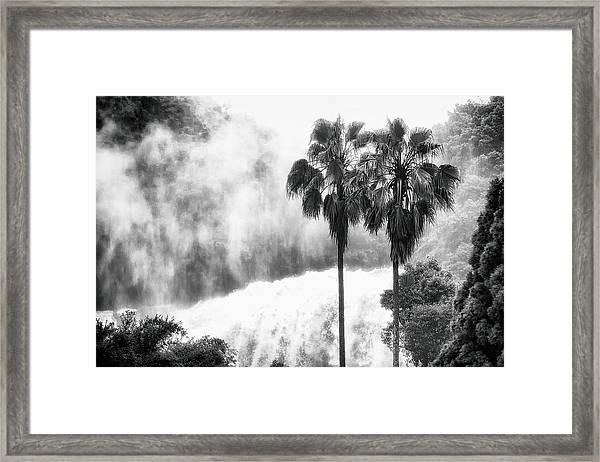 Waterfall Sounds Framed Print
