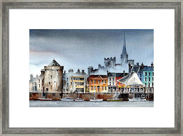 Waterford  City Quays Framed Print