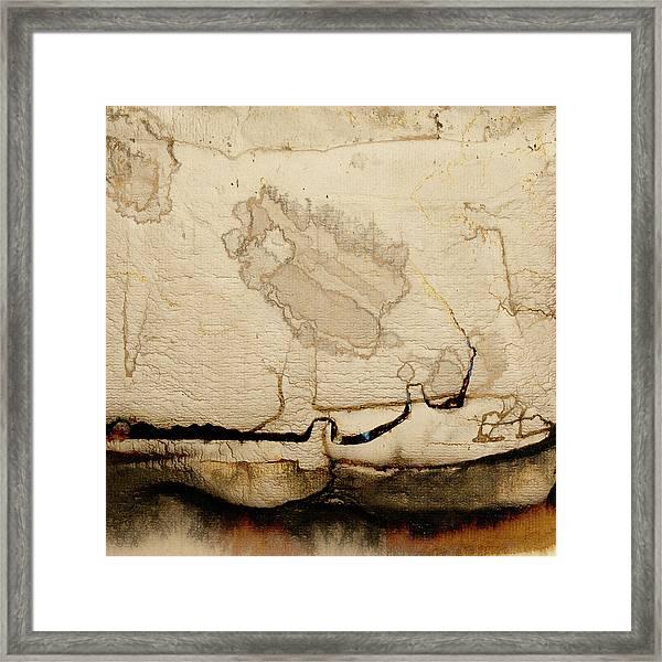 Waterlines02 Framed Print