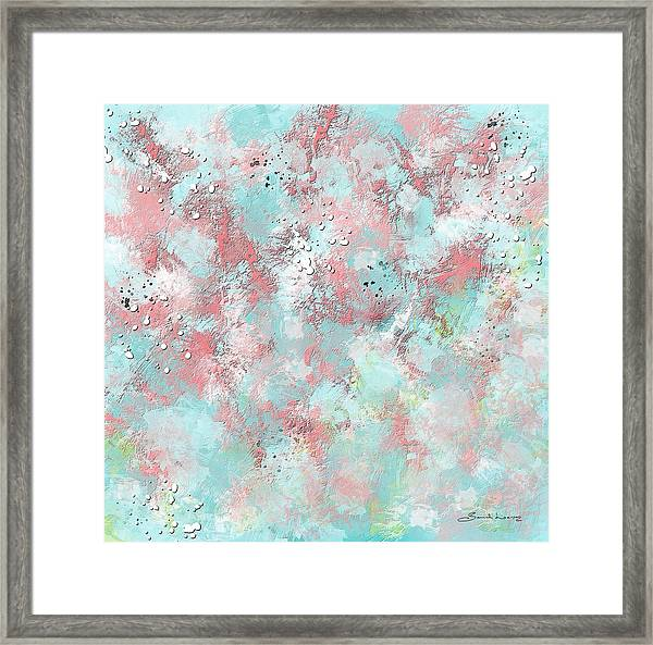 Watermelon Summer Slush Framed Print