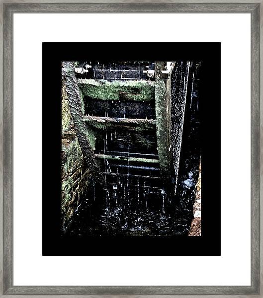 Waterwheel 1 Framed Print