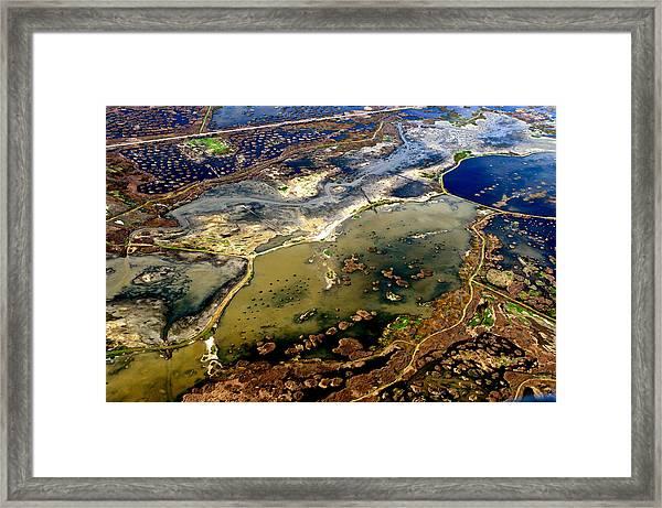 Waterworks 7 Framed Print by Sylvan Adams