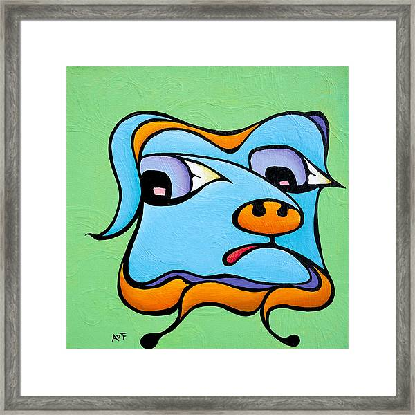 Watery Walter Framed Print
