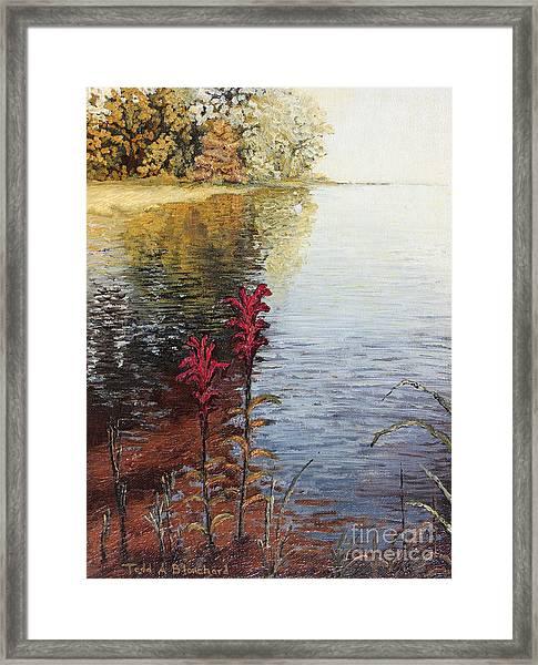 Watts Bar Lake Rockwood Tn Framed Print