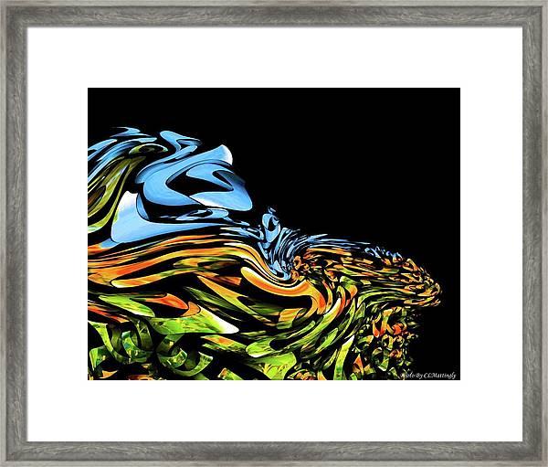 Wave Of Colors Framed Print