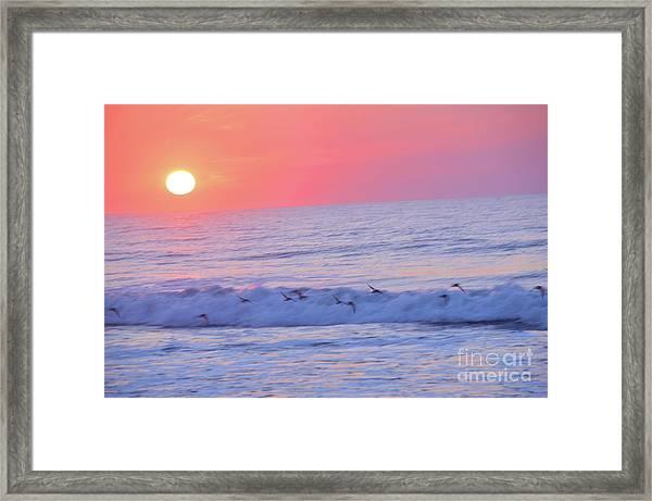 Wave Of Gratitude Nature Art Framed Print
