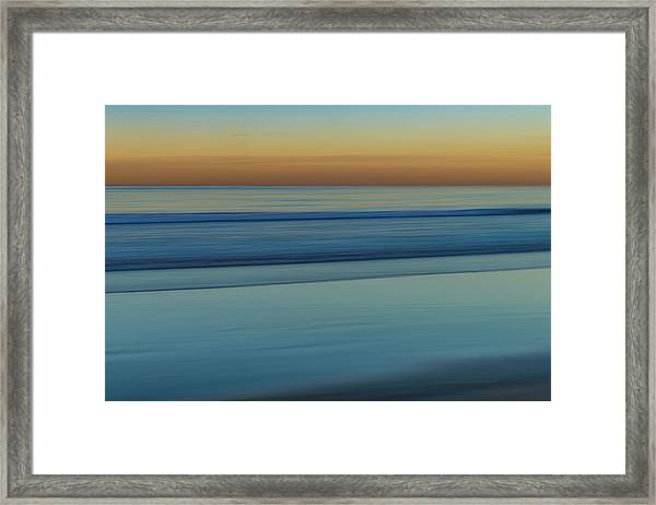 Wave Tracks 3 Framed Print