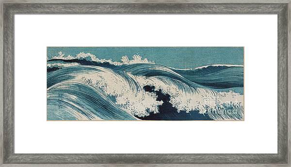 Waves Framed Print