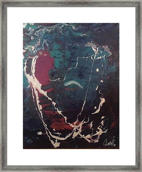 Life's Waves Framed Print