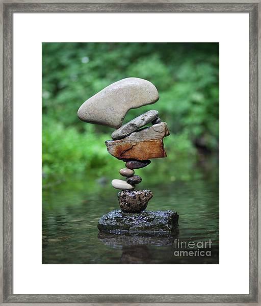 Way Of Zen Framed Print