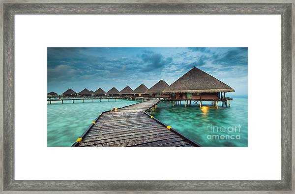 Way To Luxury 2x1 Framed Print