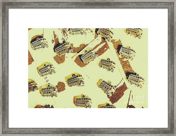 Wayback England Framed Print