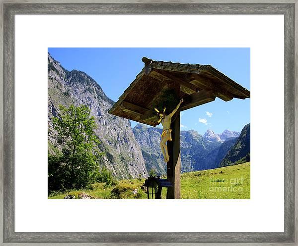 Wayside Framed Print