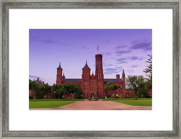 We Do Have Castles In America Framed Print