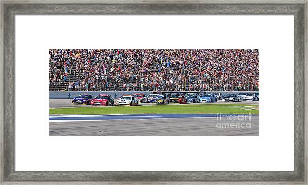 We Have A Race Framed Print