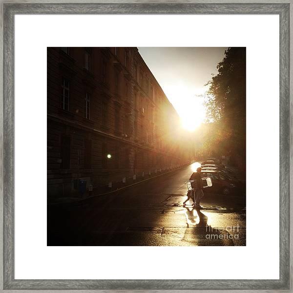 We Live In Budapest #11 Framed Print