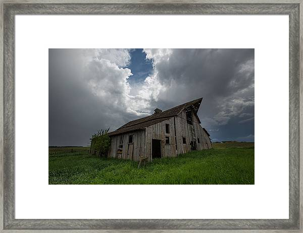 Weathered 2 Framed Print