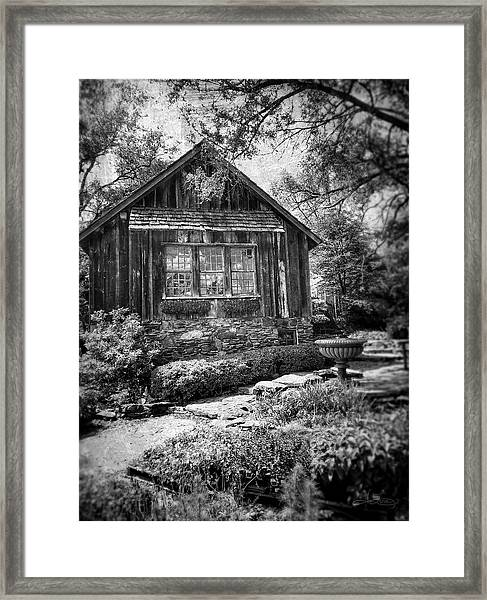 Weathered With Time Framed Print