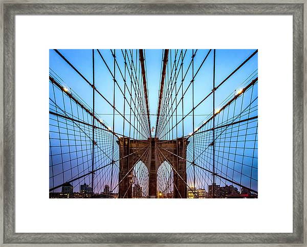 Web Of Passion Framed Print