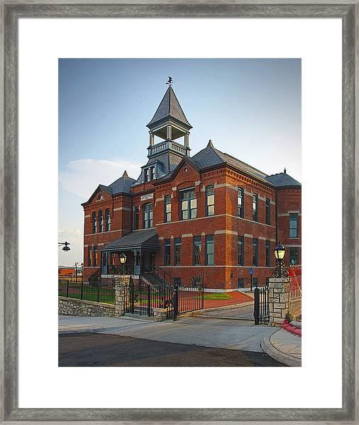 Webster House Framed Print