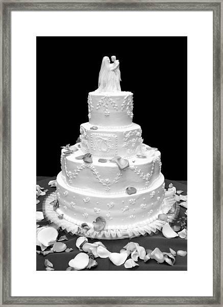 Wedding Cake Framed Print