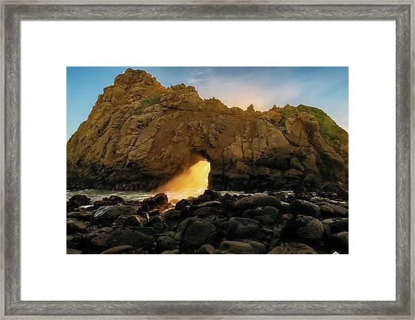 Wedge Of Light Framed Print