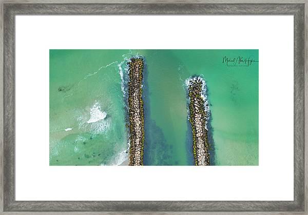 Weekapaug Breachway Framed Print