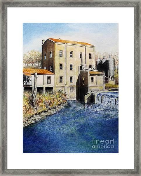 Weisenberger Mill Framed Print