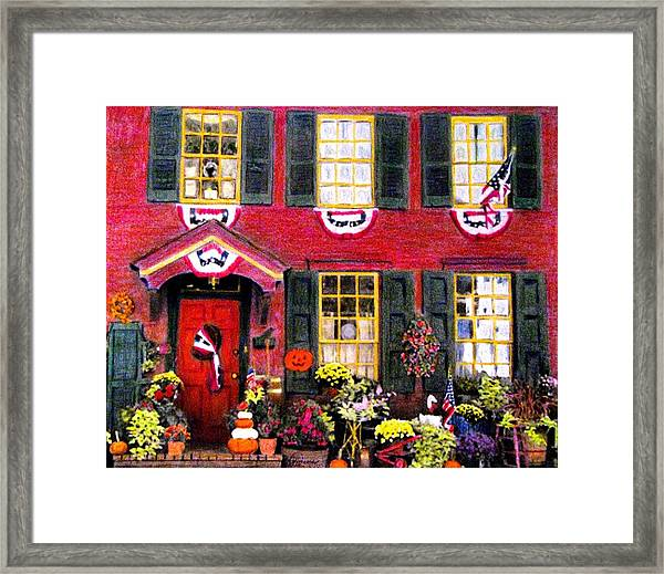Welcome To Autumn Framed Print